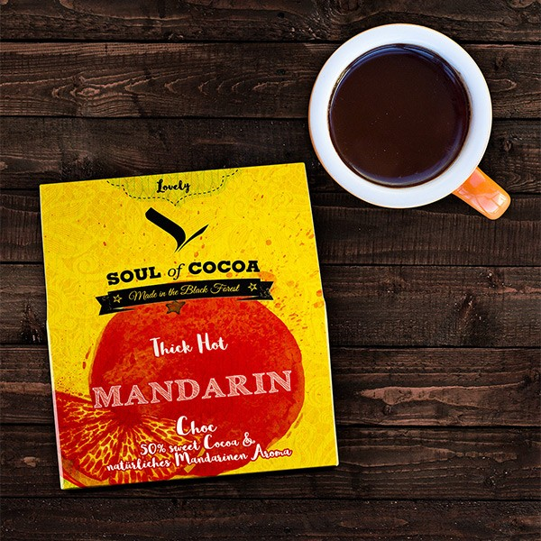 Soul of Cocoa Thick Hot Mandarin Choc 200 g